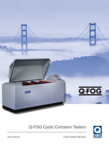 Q-FOG Cyclic Corrosion Testers