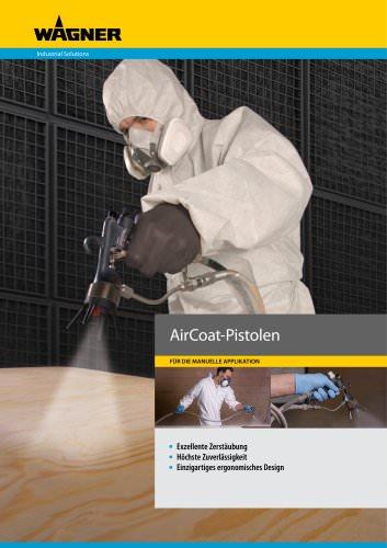 AirCoat-Pistolen
