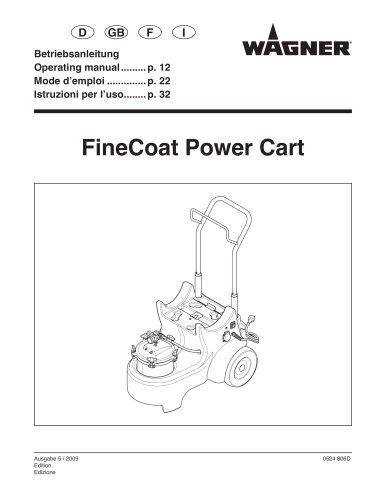 FineCoat 9900 PowerCart