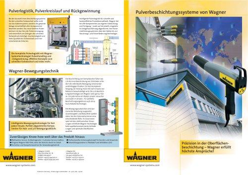 Pulverbeschichtungssysteme von Wagner