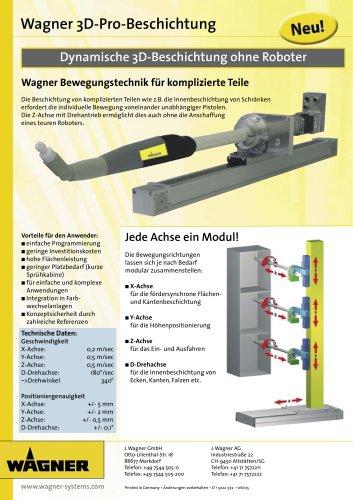 Wagner 3D-Pro-Beschichtung