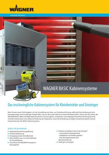 WAGNER BASIC Kabinensysteme
