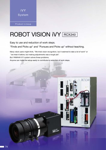 Robot with vision processing function