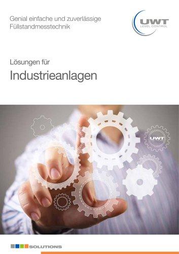 Lösungen für Industrieanlagen