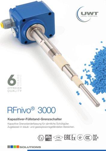 Produktblatt Kapazitiv Grenzschalter RFnivo®3000