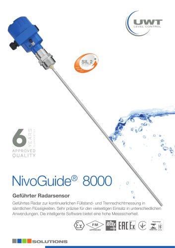 Produktblatt NivoGuide® NG 8000 für Flüssigkeiten