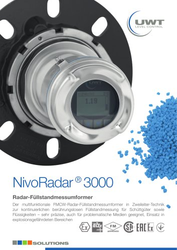 Produktblatt NivoRadar® de