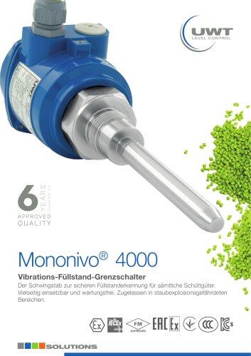 Produktinformation Mononivo® Schwingstab Sonde