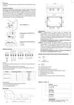 Aktiver Transmitter für absolute - 3