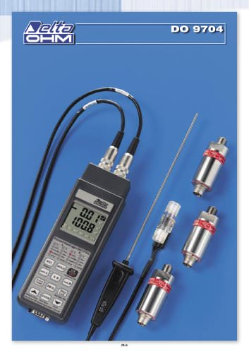 DRUCK- UND TEMPERATURMESSER - DATA LOGGER DO9704