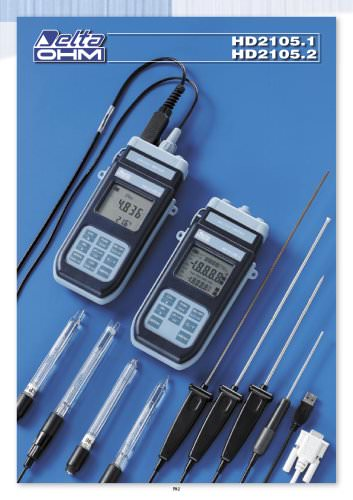 PH meters HD 2105.1