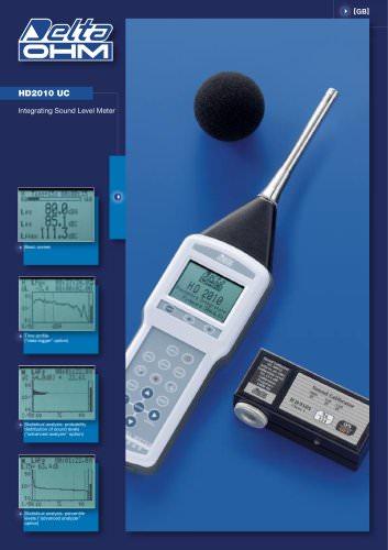 Schallpegelmesser  HD 2010 UC