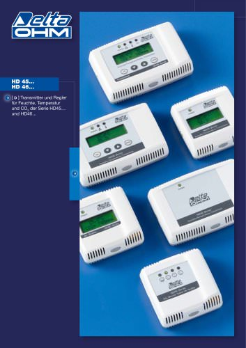 Transmitter und Regler für Feuchte, Temperatur, und CO2