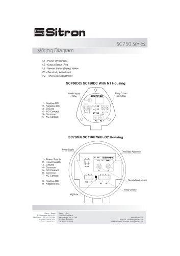 SC750 Series