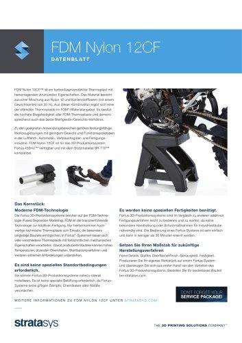 FDM Material: Nylon 12CF