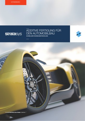 Solutions: Additive fertigung für den automobilbau
