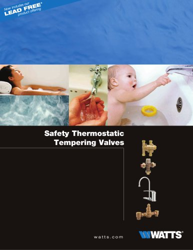 Safety Thermostatic Tempering Valves