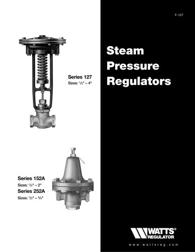 Steam Pressure Regulators