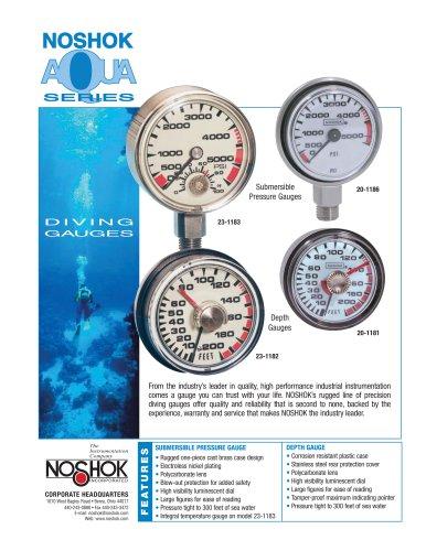 Aqua Series Pressure Gauges NK03DG