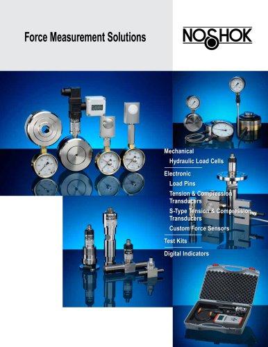 Force Measurement Solutions Catalog