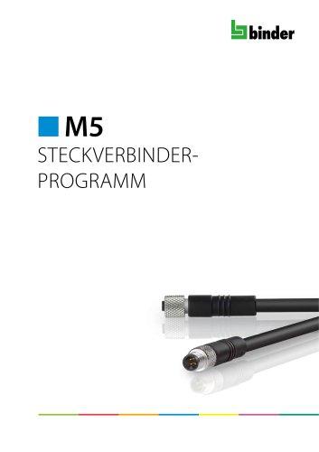 M5 Steckverbinderprogramm