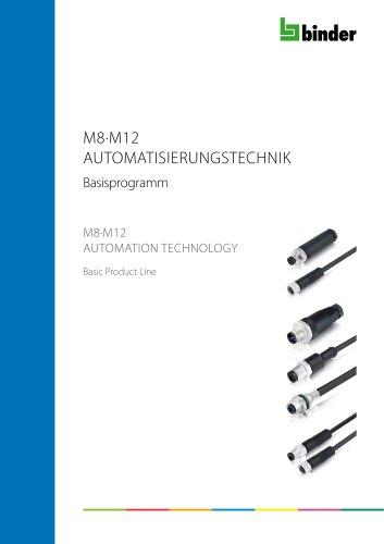 M8·M12 AUTOMATION TECHNOLOGY