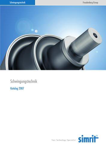 Katalog 2007 Schwingungstechnik
