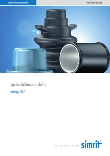 Katalog 2007 Spezialdichtungsprodukte