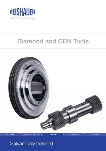 Diamond and CBN tools