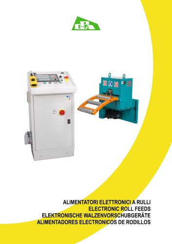 Electronic roll feeds