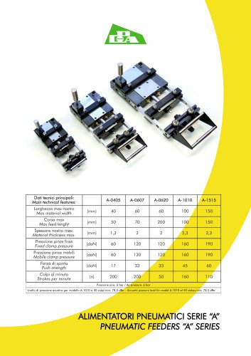 Pneumatic feeders A