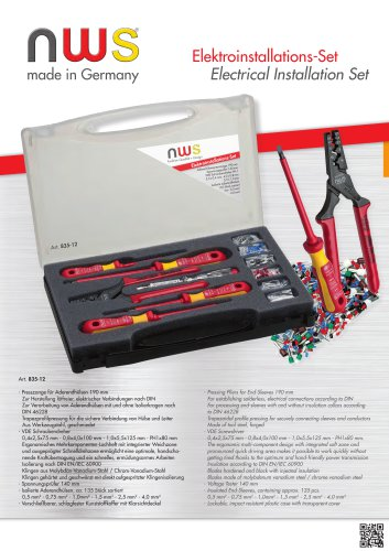 Electrical Installation Set