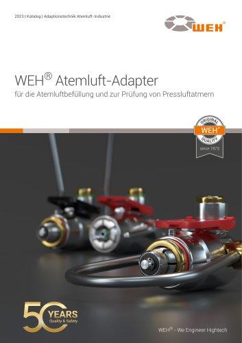 WEH® Adapter für die Atemluft-Industrie