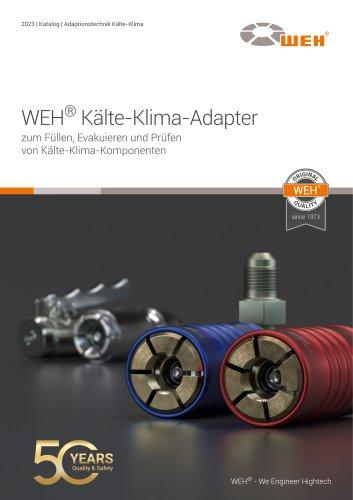 WEH® Adapter für die Kälte-Klima-Technik