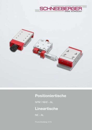 Positioniertische / Lineartische