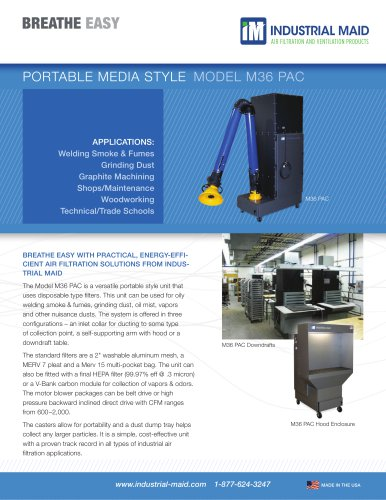 PORTABLES AND PORTABLE DOWNDRAFTS: PORTABLE MEDIA STYLE