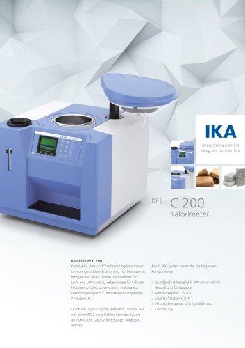 c 200 Kalorimeter