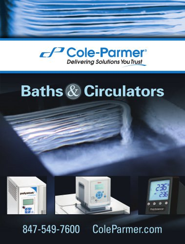 Cole-Parmer® baths & circulators catalog