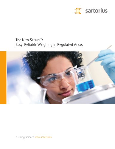 Sartorius - The New Secura