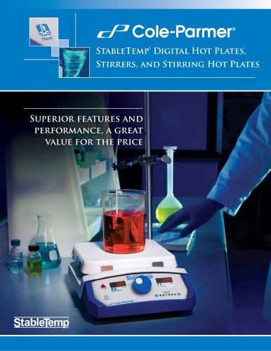 Stabletemp hot plates stirrers brochure