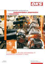 Catalogue Produits chimico-techniques pour l'entretien et l'installation industrielle