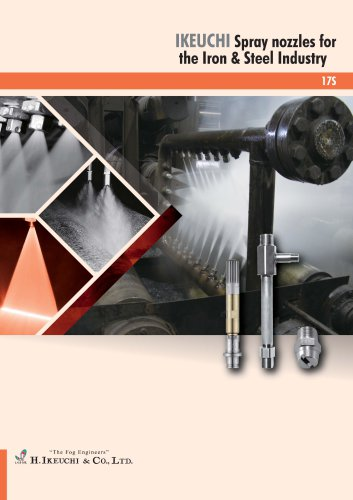 Spray Nozzles for the Iron & Steel Industry