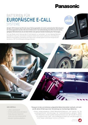 EUROPAISCHE E-CALL