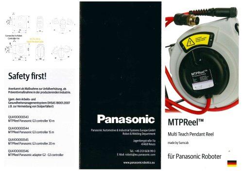 MTPReel – Kabelrückzugssystem für Teach Pendant