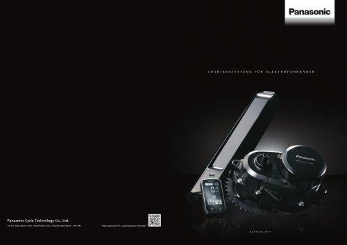 Panasonic E-Bike Systems Catalogue 2017