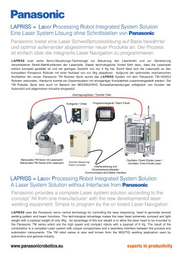 Robot & Welding System Solutions - LAPRISS