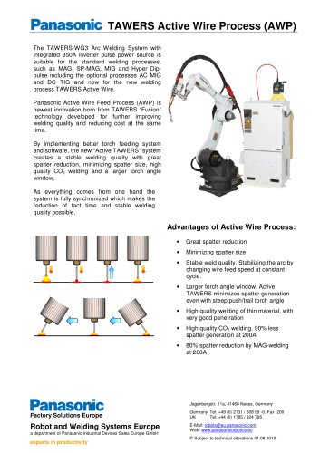 TAWERS Active Wire Process