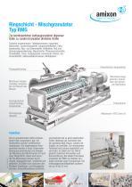 Ringschicht - Mischgranulator Typ RMG