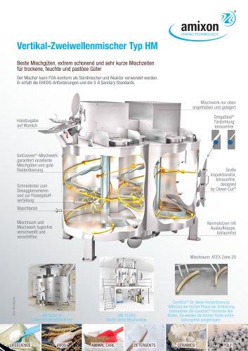 Vertikal-Zweiwellenmischer Typ HM