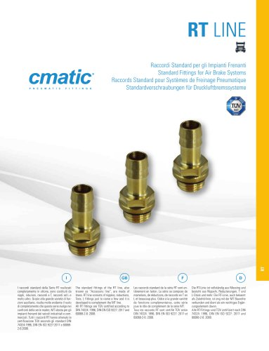 RT Line - Standard Fittings for Air Brake Systems